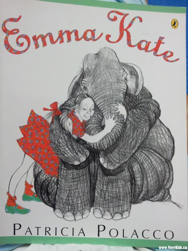 这本书里的大象emma都是铅笔画的